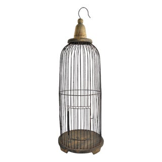 Decorative Round Wire Hanging Birdcage
