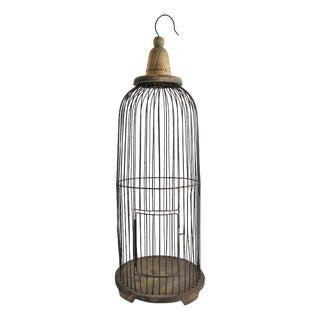 Decorative Round Wire Hanging Birdcage