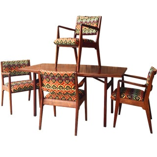 Jens Risom Danish Modern Dining Set