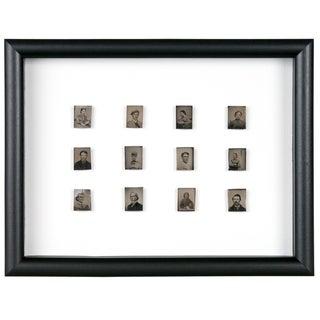 Antique Framed Daguerreotype Portraits - Set of 12