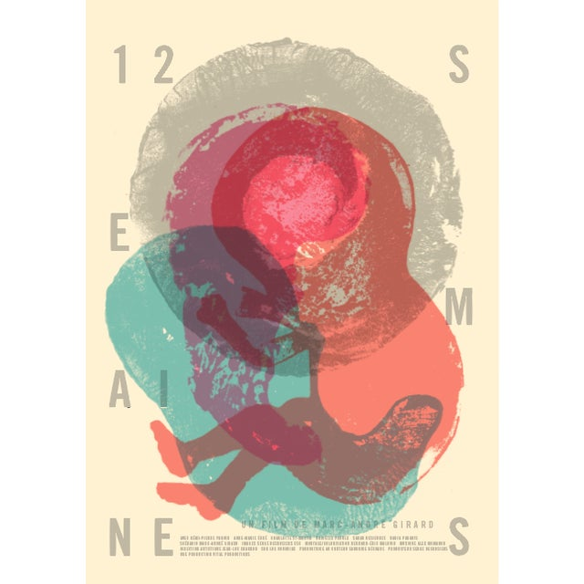 Contemporary Movie Poster, 12 Semaines, film by Marc-Andre Girard - Image 2 of 4
