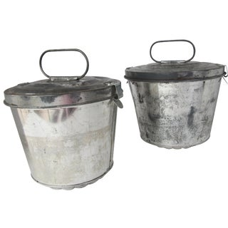 Vintage German Pudding Pans- a Pair