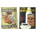 Image of Wall Sized 1915 Chocolate Billboard Ghirardelli Sf Sign