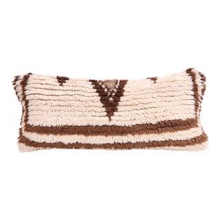 Vintage Moroccan Rug Lumbar Pillow Cover