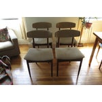 Image of Mid-Century Rosewood Dining Chairs - Set of 4