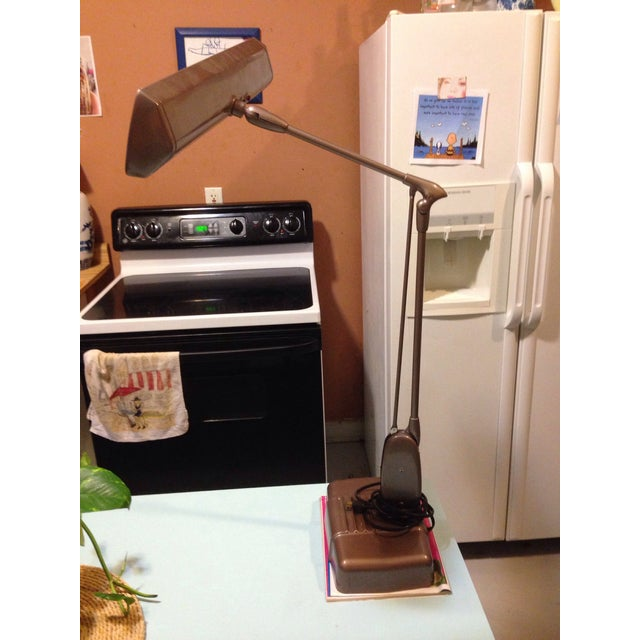 Dazor Floating Fixture Midcentury Lamp - Image 2 of 11