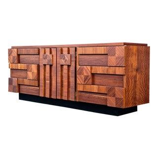 Mid-Century Modern Lane Brutalist Dresser