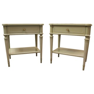 Thomasville French Country Nightstands - Pair