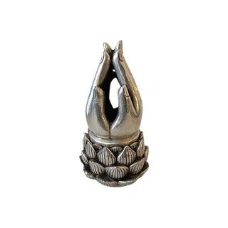 Bronze Hands Incense Burner