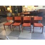 Image of Mid-Century Teak Dining Chairs - Set of 4