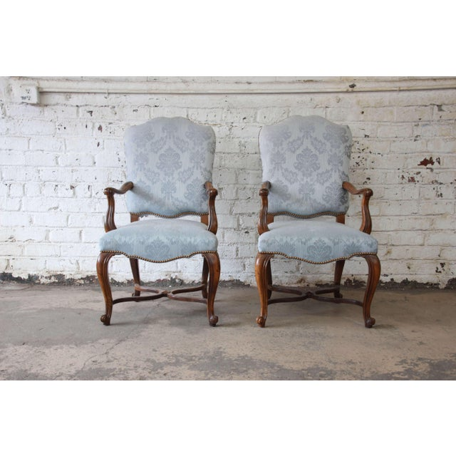 French Provincial Dining Chairs by Baker Furniture - Set of 12 - Image 2 of 11