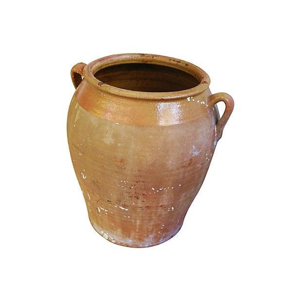 Jumbo Antique French Terracotta Confit Pot - Image 5 of 6
