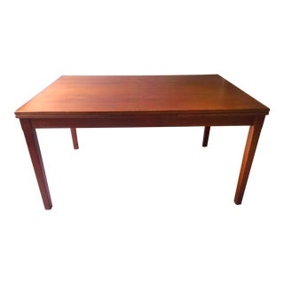 Vintage Sigh & Sons Danish Teak Extension Dining Table