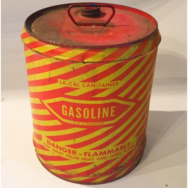 Vintage Industrial Gasoline Can - Image 2 of 4
