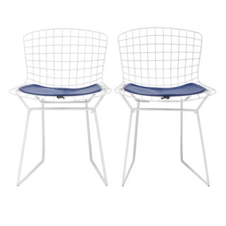 Knoll Bertoia Child Size Chairs w/ Pad - A Pair