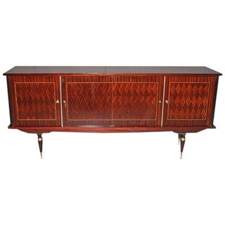 French Art Deco Mahogany / Rosewood Sideboard / Buffet, circa 1940's.