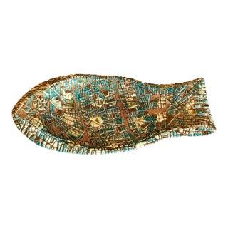 Sascha Brastoff Ceramic Fish Tray