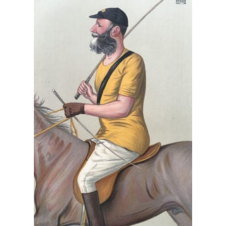 1891 Vanity Fair Polo Print - Earl of Harrington