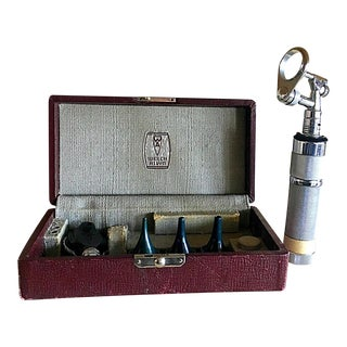 Vintage Medical Otoscope Ophthalmoscope