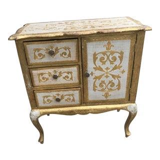 Italian Florentine Gold Cabinet
