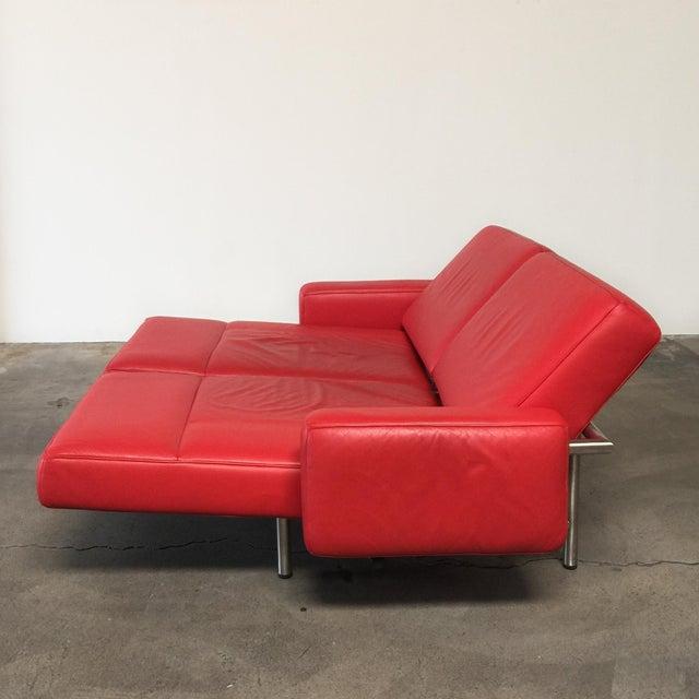 De Sede Ds-460 Multifunctional Sofa Red - Image 7 of 11