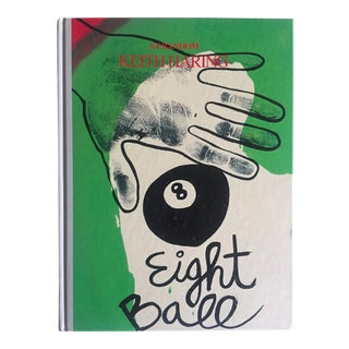 "Keith Haring ""Eight Ball"" 1989 Rare 1st Edition Japanese Hardcover Collector Art Book"