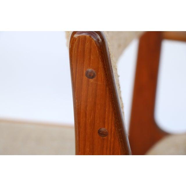 Vintage D-Scan Teak Dining Chairs - Set of 6 - Image 6 of 7