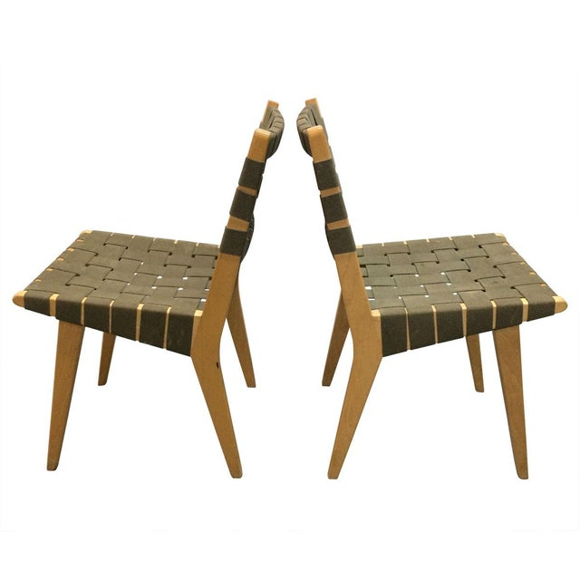 Jens risom side chair 666 a pair chairish - Jens risom side chair ...