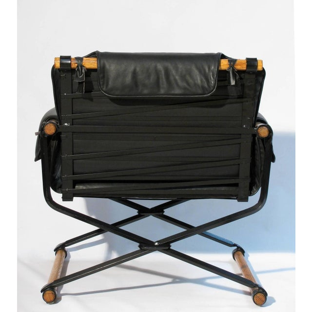 Image of Campaign Chair & Ottoman by Cleo Baldon