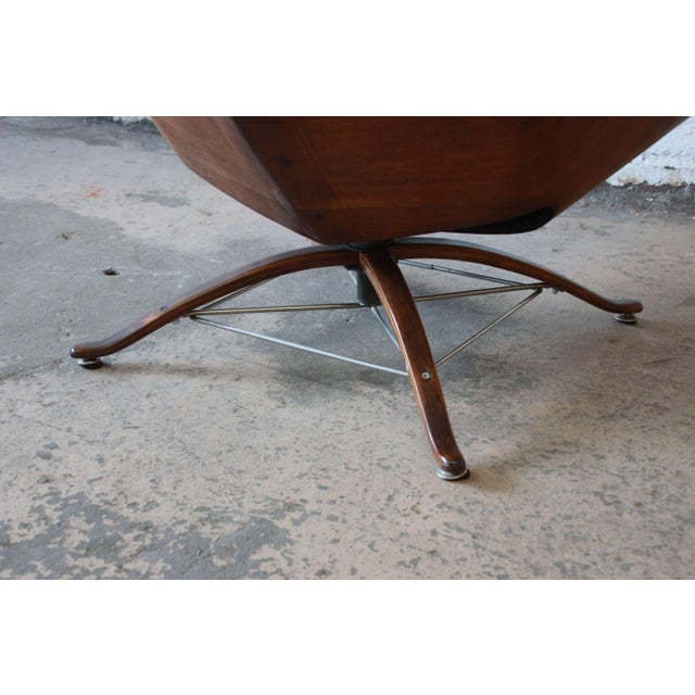 """George Mulhauser for Plycraft """"Mr. Chair"""" and Ottoman - Image 9 of 10"""