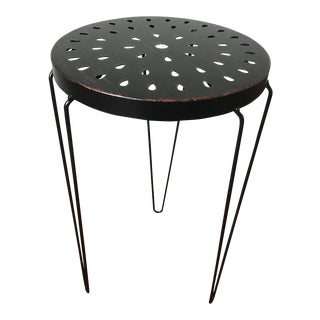 Hairpin Leg Metal Accent Table