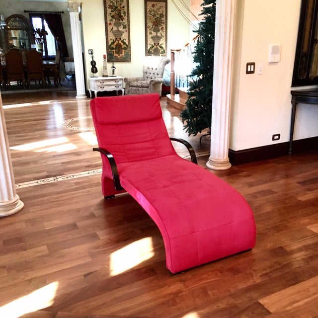 Dania Red Giselle Lounge Chaise - Image 4 of 4
