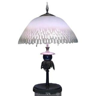 BEAUTIFUL FRENCH ART DECO LAMP