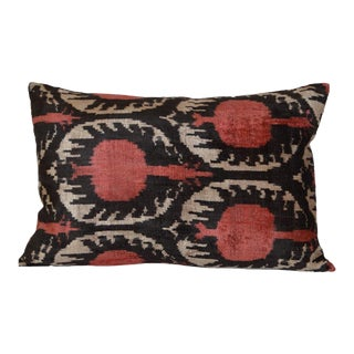 Ikat Silk Velvet Ceci Pillow