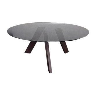 Dakota Jackson Smoke Glass Dining Table