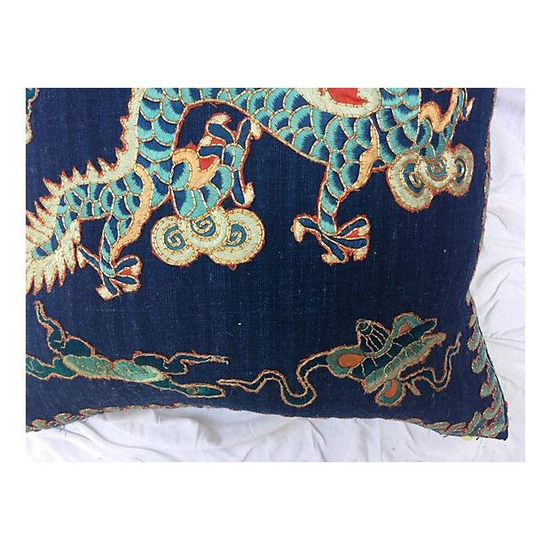 Emperor's Opera Robe Dragon Pillow - Image 5 of 6