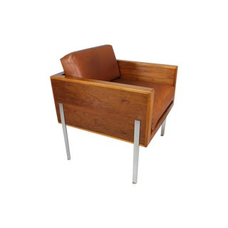 "Harvey Probber Architectural Series ""Cube"" Chair"
