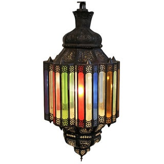 Moroccan Multi Color Pendant Light