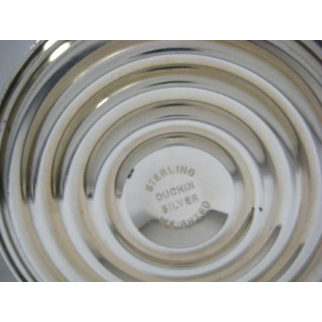 Sterling Finial & Base Covered Glass Candy Dish - Image 9 of 11