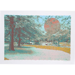 """""""Tranquility"""" Signed Serigraph Print"""