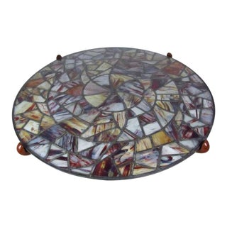Walker Weed Stained Glass Coffee Table