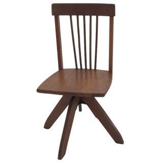 Vintage Childrens Swivel Desk Chair