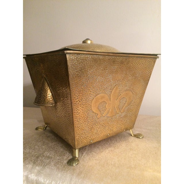 Image of Vintage Chinese Brass Heater/Steamer
