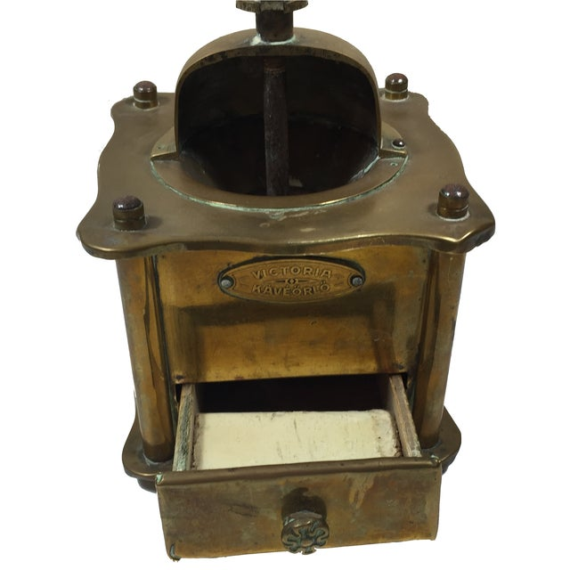 Victoria Kaveorlo Antique Coffee Grinder - Image 3 of 6