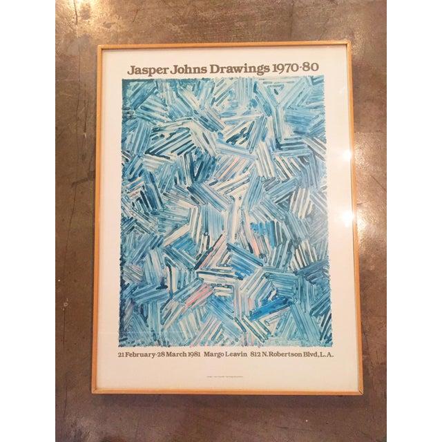 Jasper Johns Drawings 1970-80 Gallery Poster - Image 2 of 7