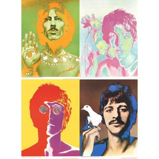 1967 Richard Avedon The Beatles Posters - Set of 4