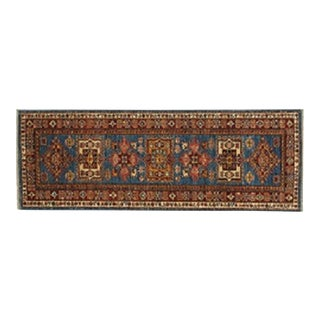 "Leon Banilivi Royal Blue Super Kazak Runner - 2'1"" X 5'7"""