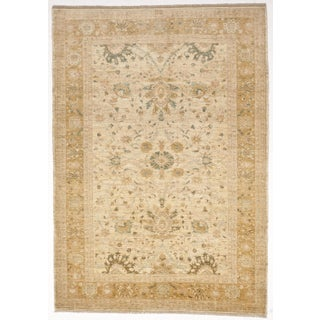 Transitional Hand-Knotted Pakistan Rug - 8′4″ × 11′7″