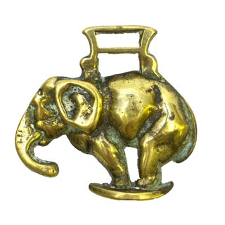 Brass Elephant Bottle Opener