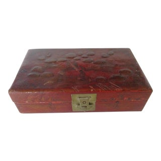 Asian Leather Box